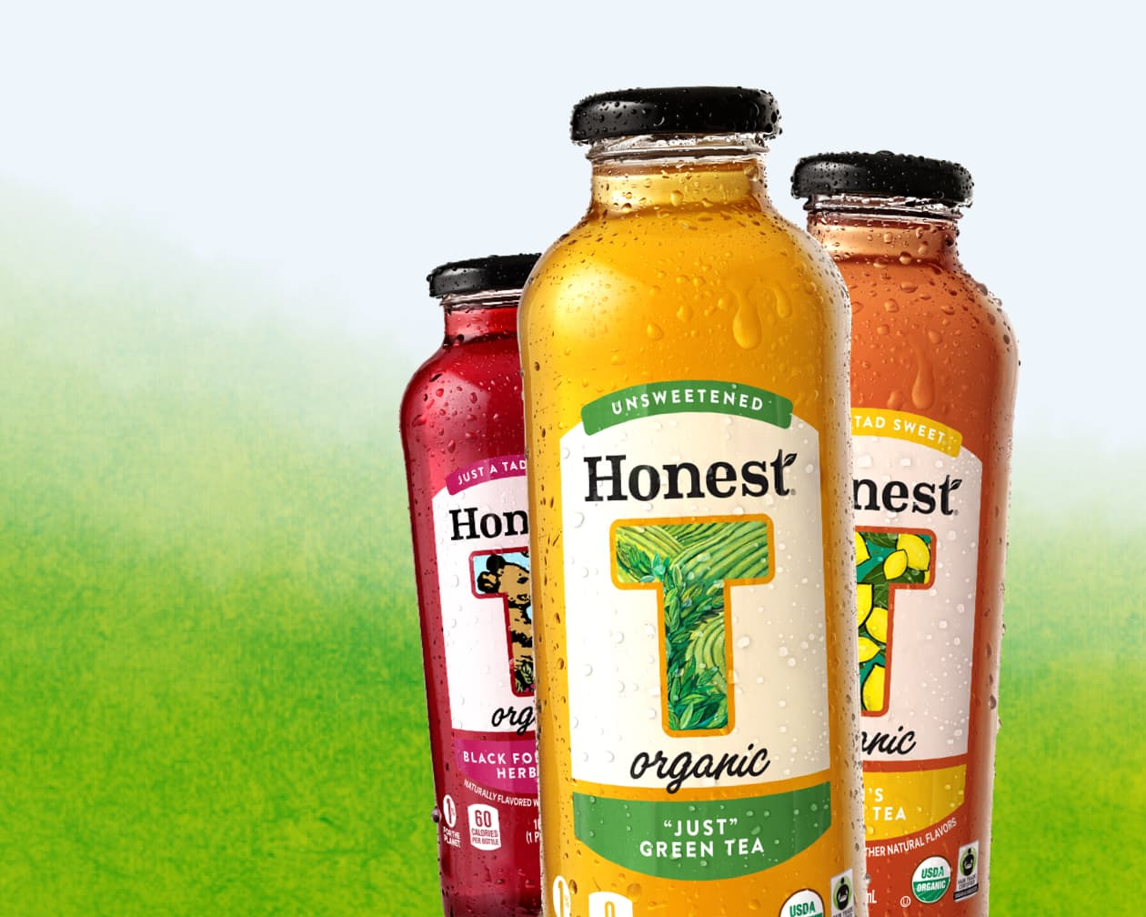 King Design Honest Tea Glass Bottles Case Study