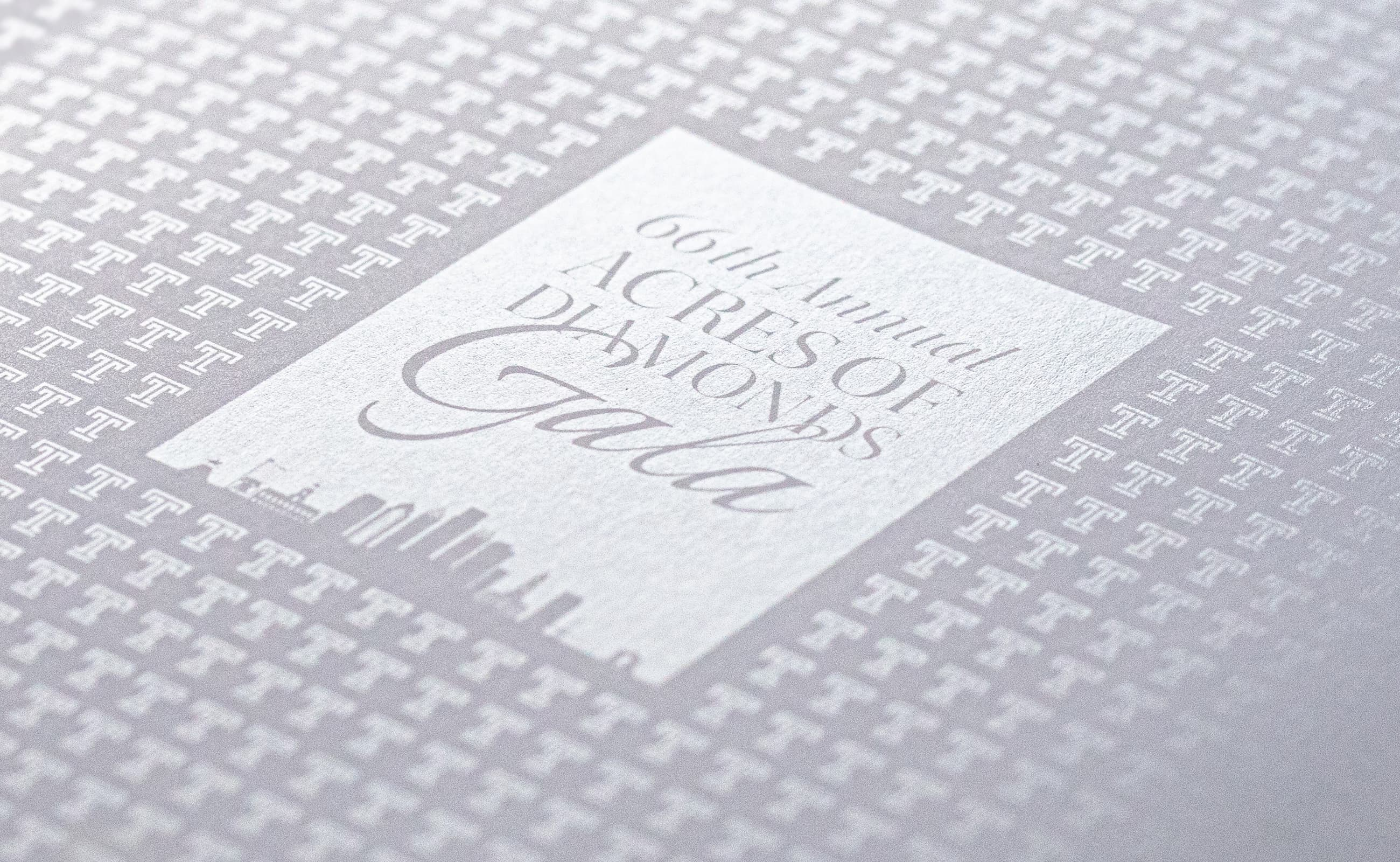 King Design Temple University 2019 Gala Save The Date Specialty Printing