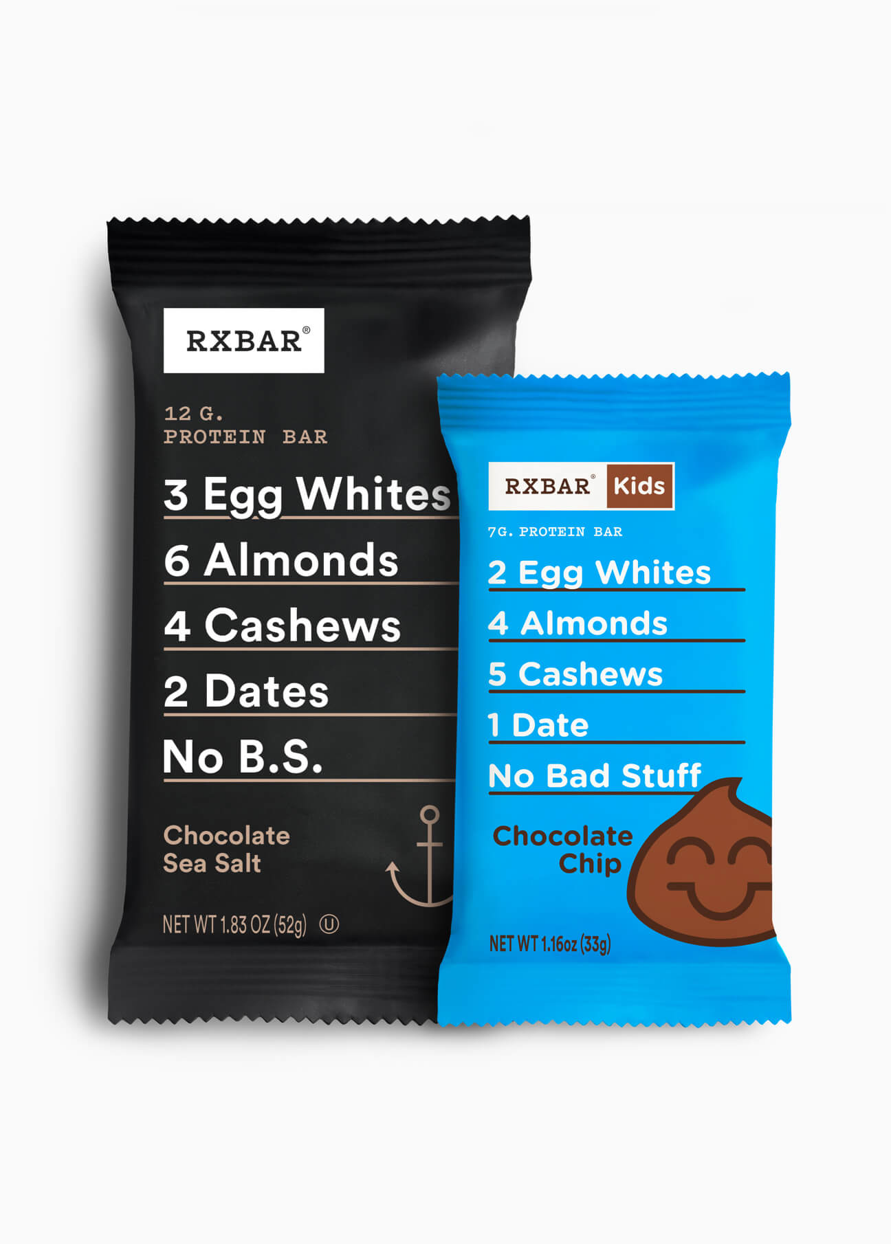RXBAR Chocolate Sea Salt Kids Chocolate Chip