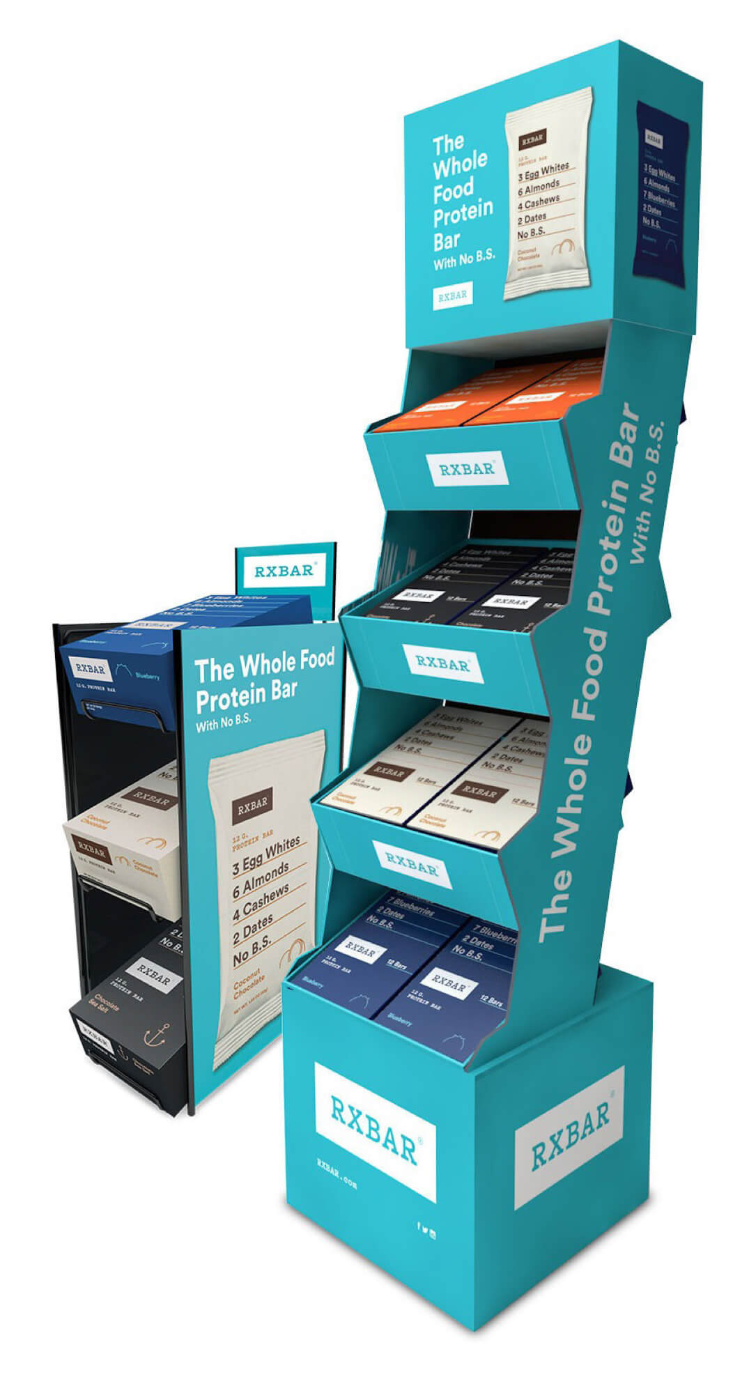 RXBAR In Store Countertop Displays