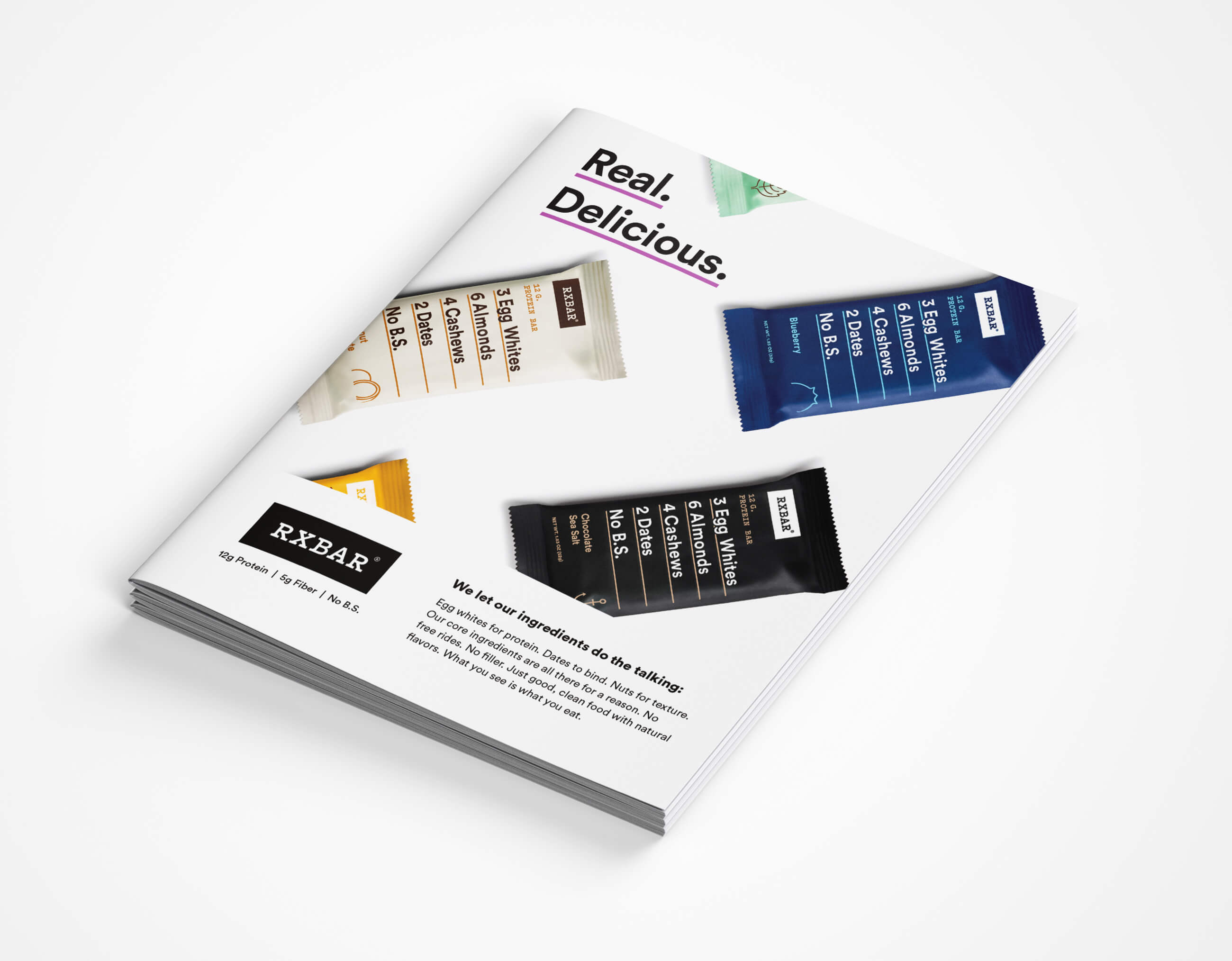 RXBAR Sales Sheet Cover