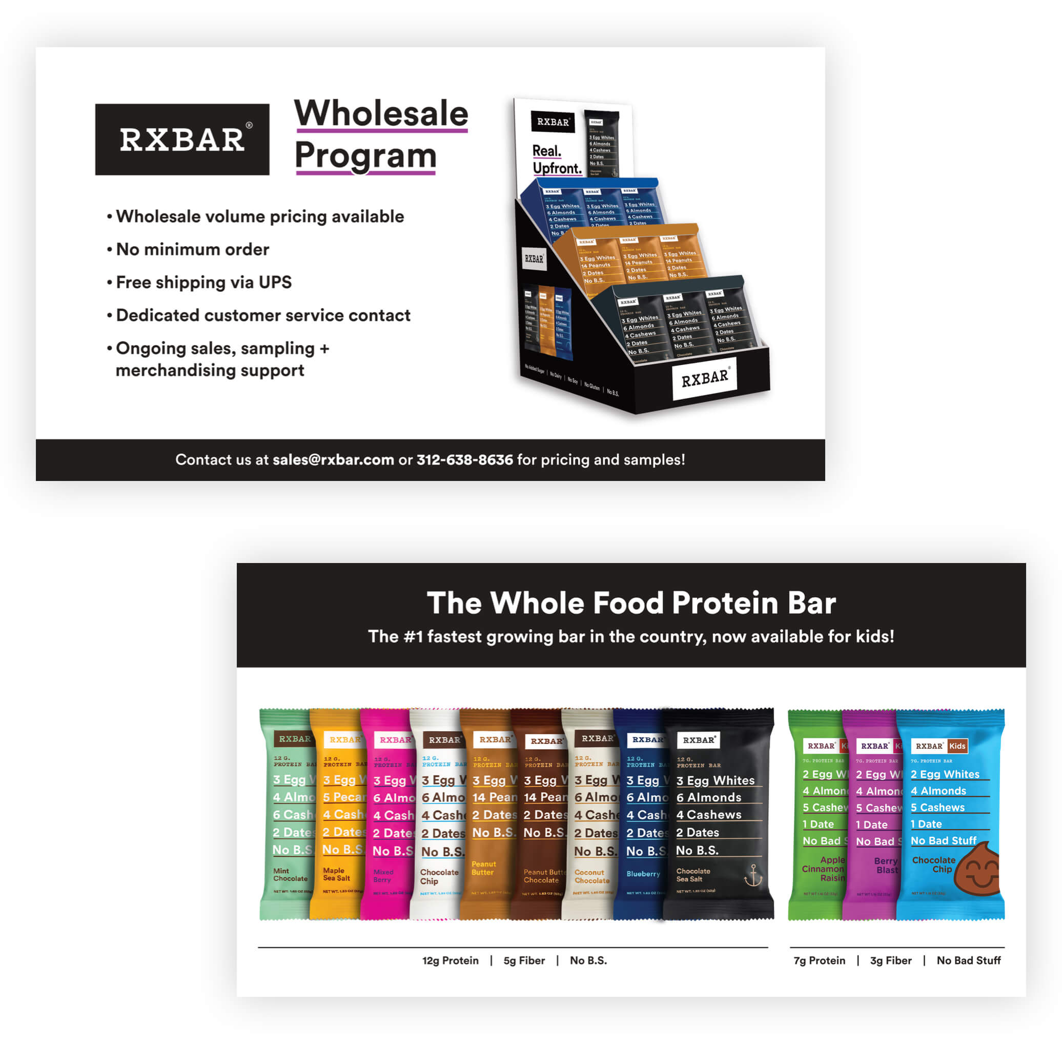RXBAR Wholesale Program