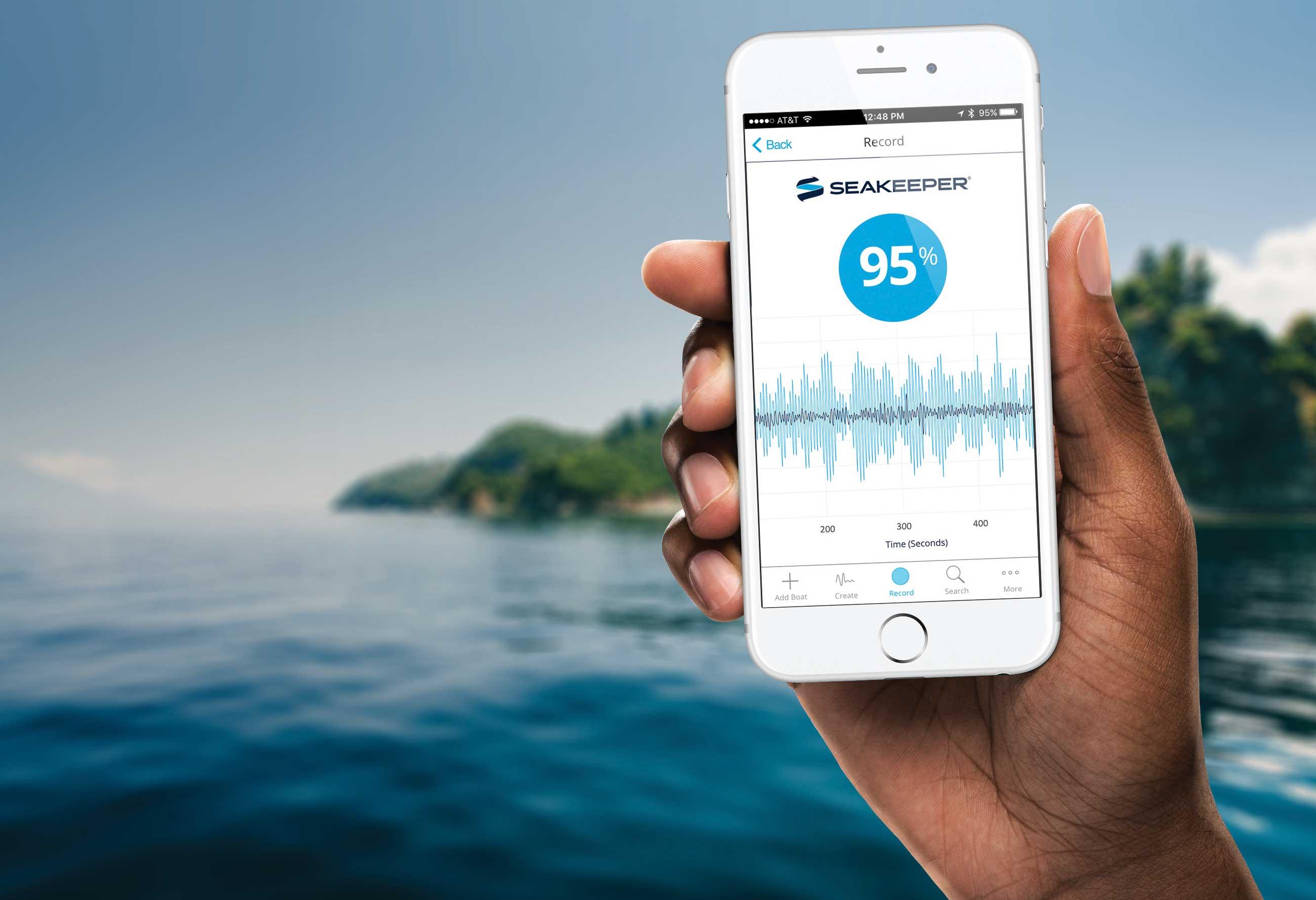 Seakeeper Mobile App Design