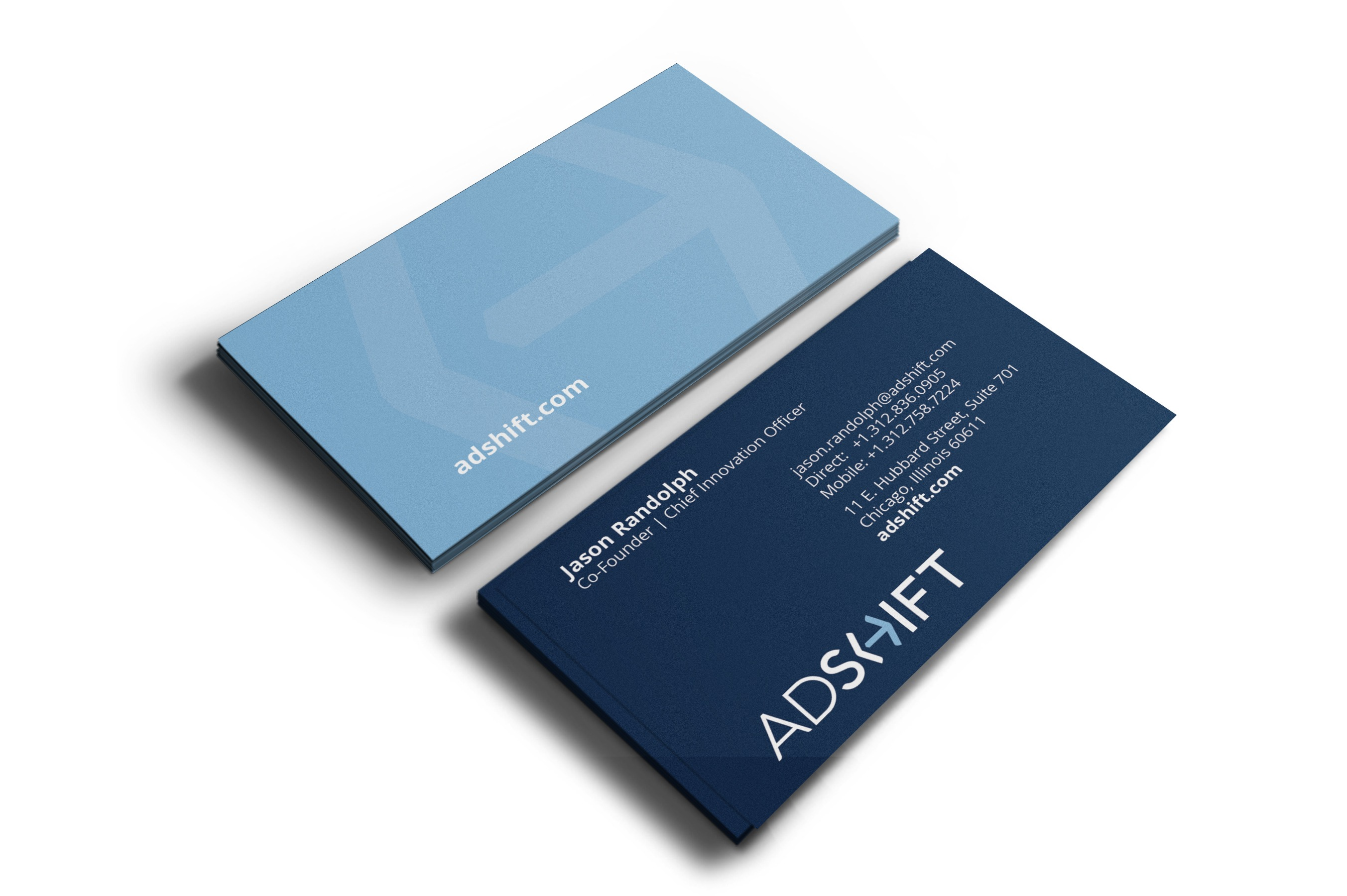 King Design Adshift Business Cards