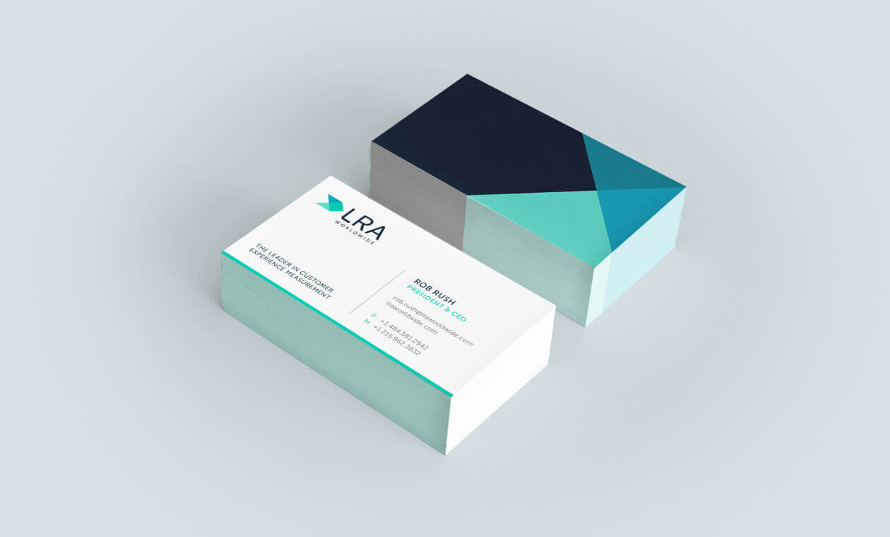 King Design Lra Business Card Design