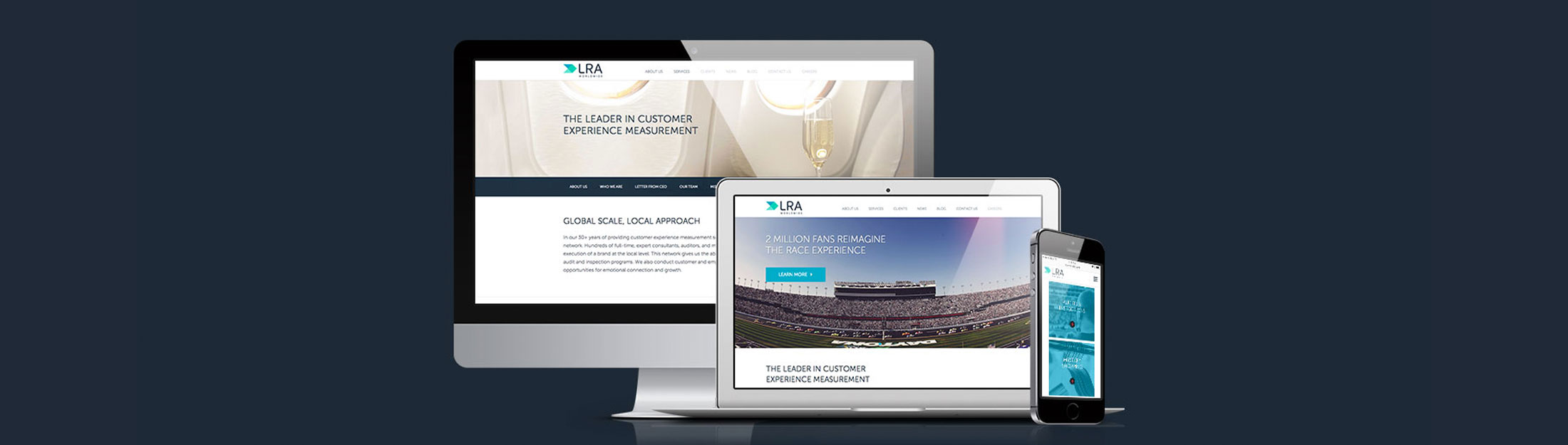 King Design Lra Website On Multiple Devices