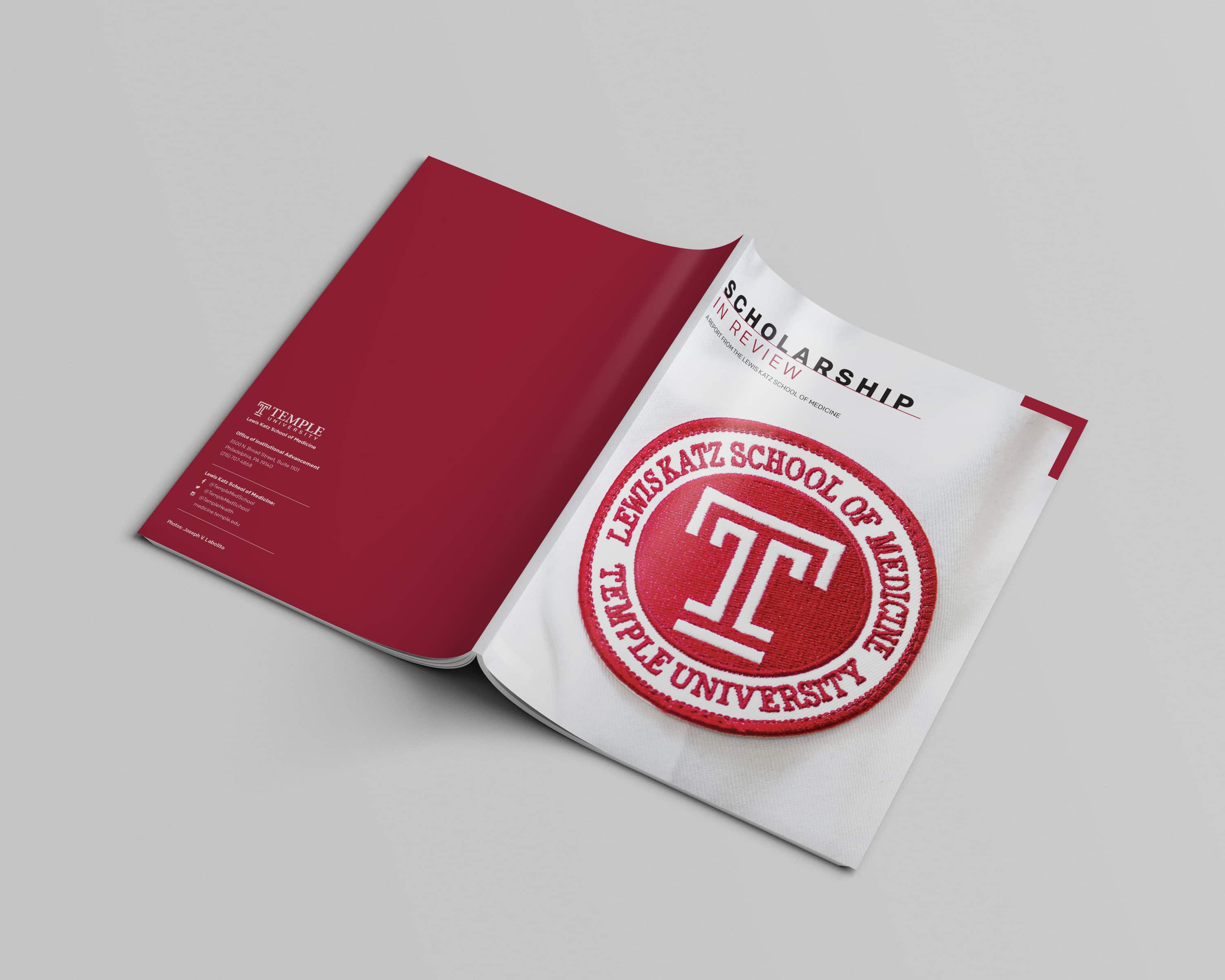 Temple Scholarship Report Cover